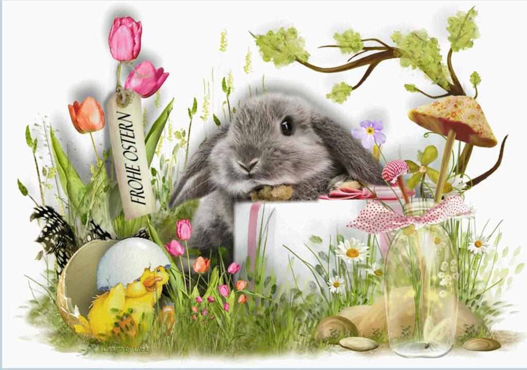 Frohe Ostern Ostergrüße 2021